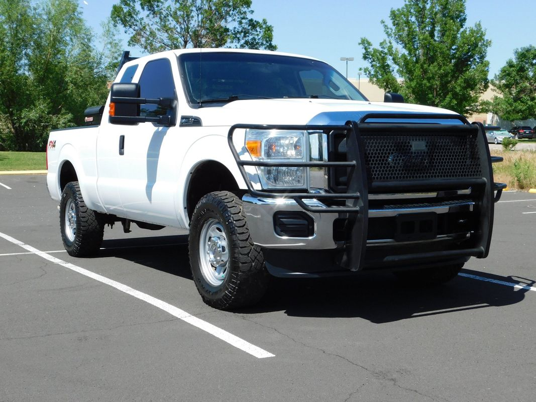 2015 Ford Super Duty F-250 SRW Extended Cab FX4 Off Road Short Bed 4X4