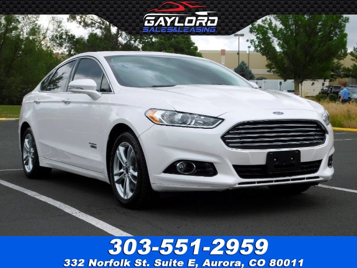 2016 Ford Fusion Energi Titanium Gaylord Sales Leasing Co