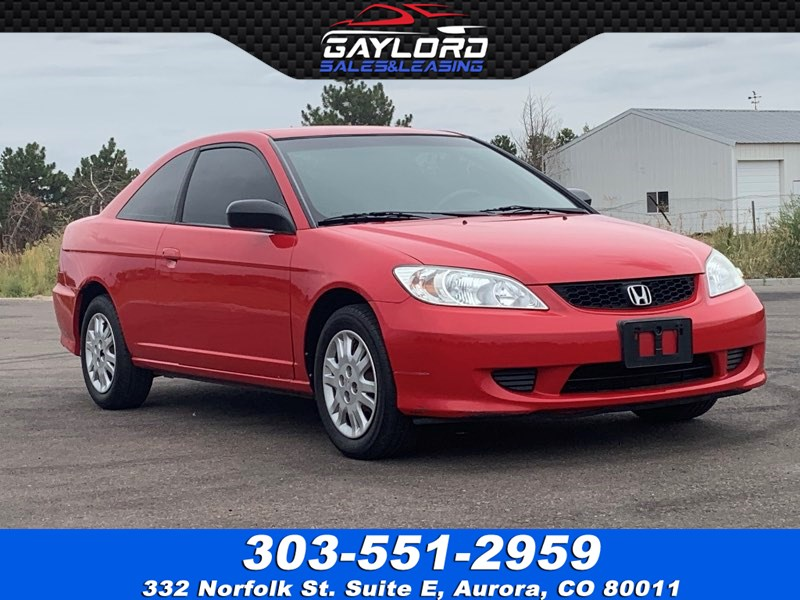 2005 Honda Civic 2D Coupe LX 5 Speed Manual