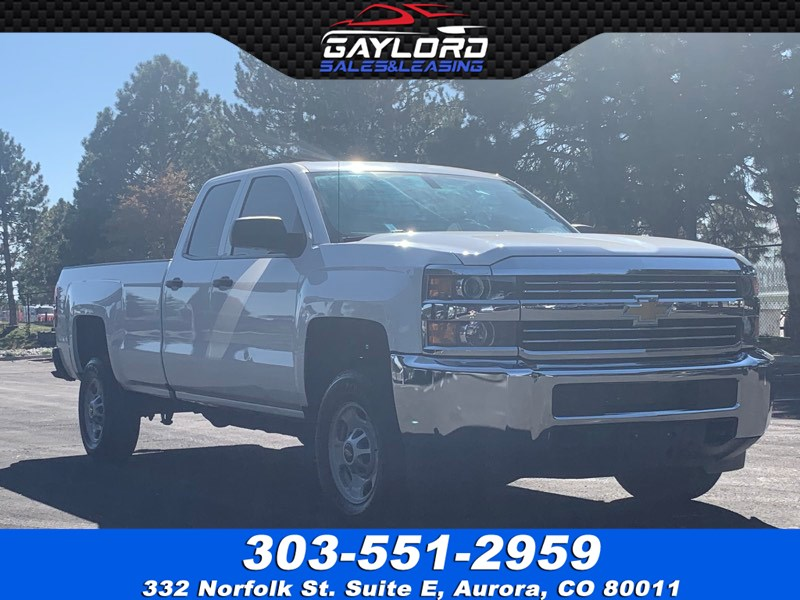 2015 Chevrolet Silverado 2500HD Double Cab Long Bed RWD 6.0 V8