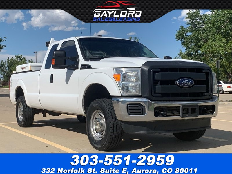 2015 Ford Super Duty F-250 SRW Extended Cab Long Bed 4x4