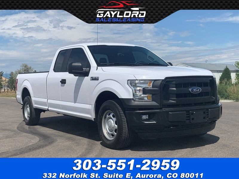 2016 Ford F-150 Extended Cab Long Bed 4x4
