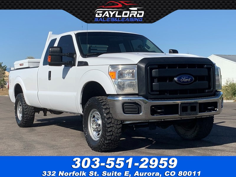 2014 Ford Super Duty F-250 SRW Extended Cab Long Bed 4X4 6.2L V8