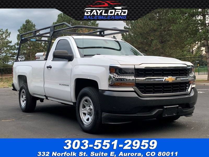 2016 Chevrolet Silverado 1500 Regular Cab Long Bed Ladder Rack RWD