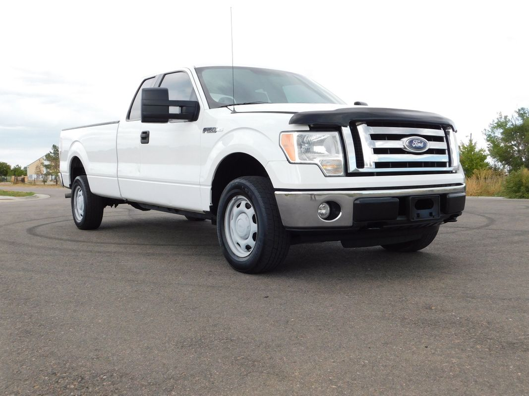 2010 Ford F-150 XLT Extended Cab Long Bed 4X4 w/Heavy Duty Payload Package