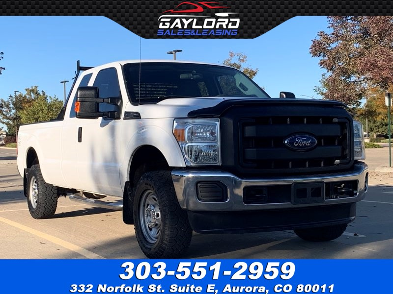 2015 Ford Super Duty F-250 SRW Extended Cab Long Bed XL 4X4 6.2L V8