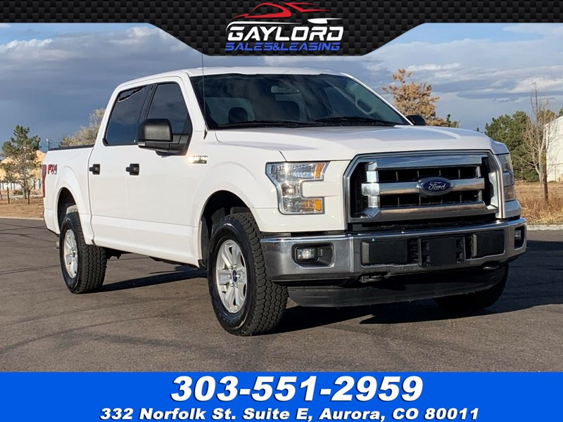 2016 Ford F-150 Crew Cab Short Bed XLT FX4 4X4 5.0 V8