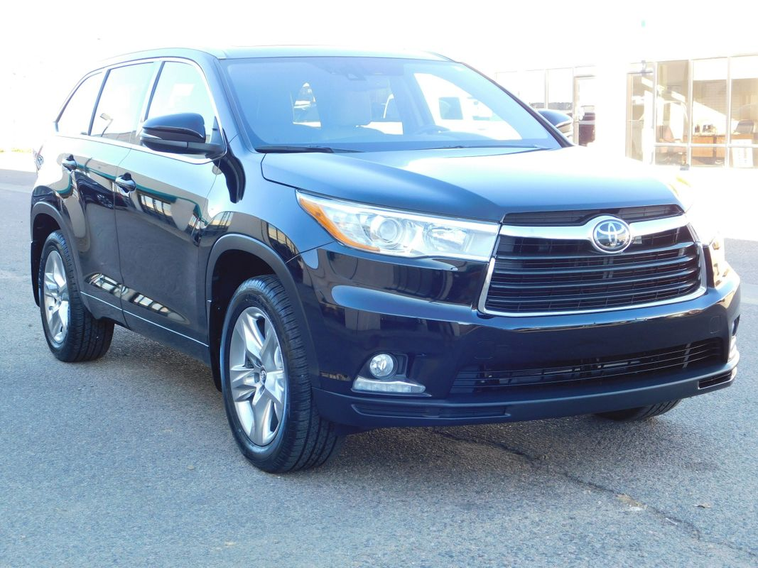 2016 Toyota Highlander Limited Platinum AWD 3.5L V6