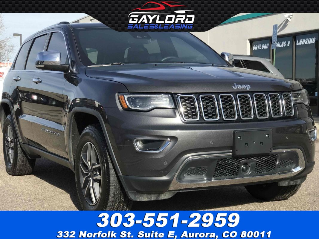 2019 Jeep Grand Cherokee Limited 4X4 3.6L V6