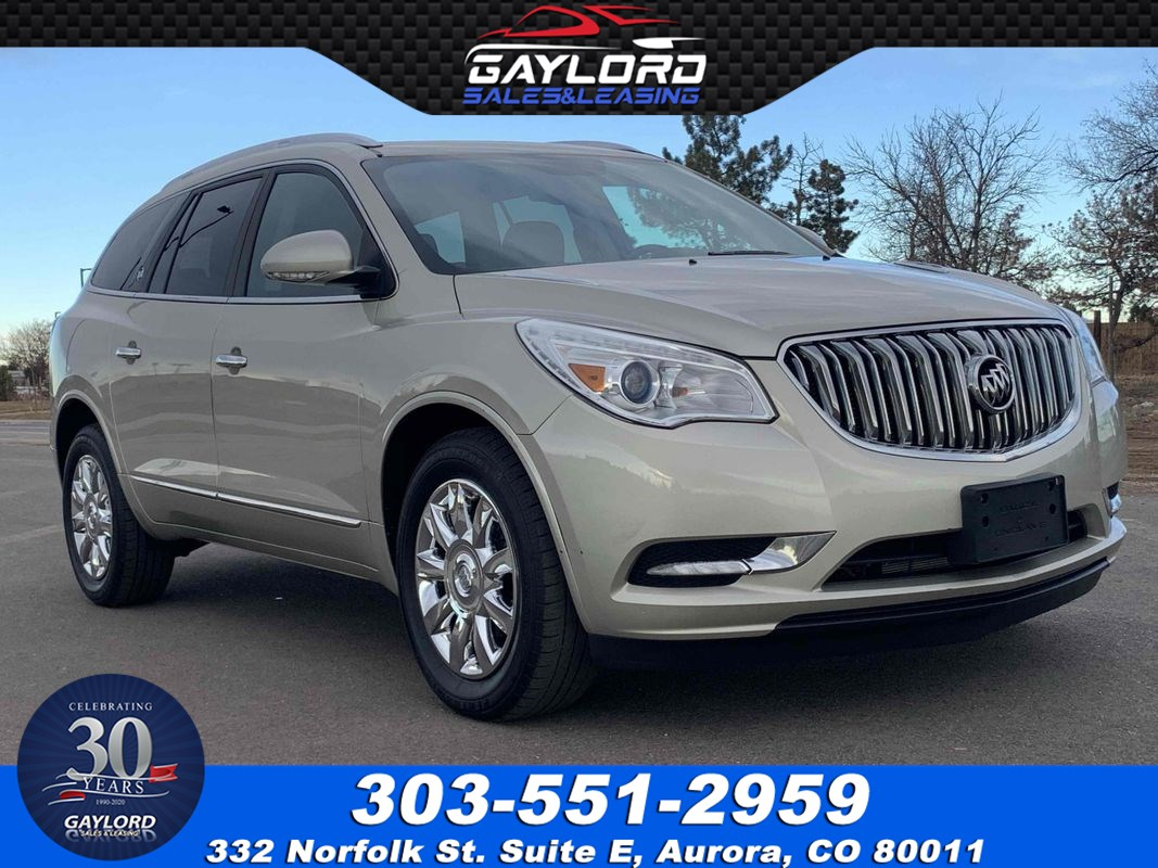 2013 Buick Enclave Leather Group All Wheel Drive 7 Passenger Seating 3.6L V6
