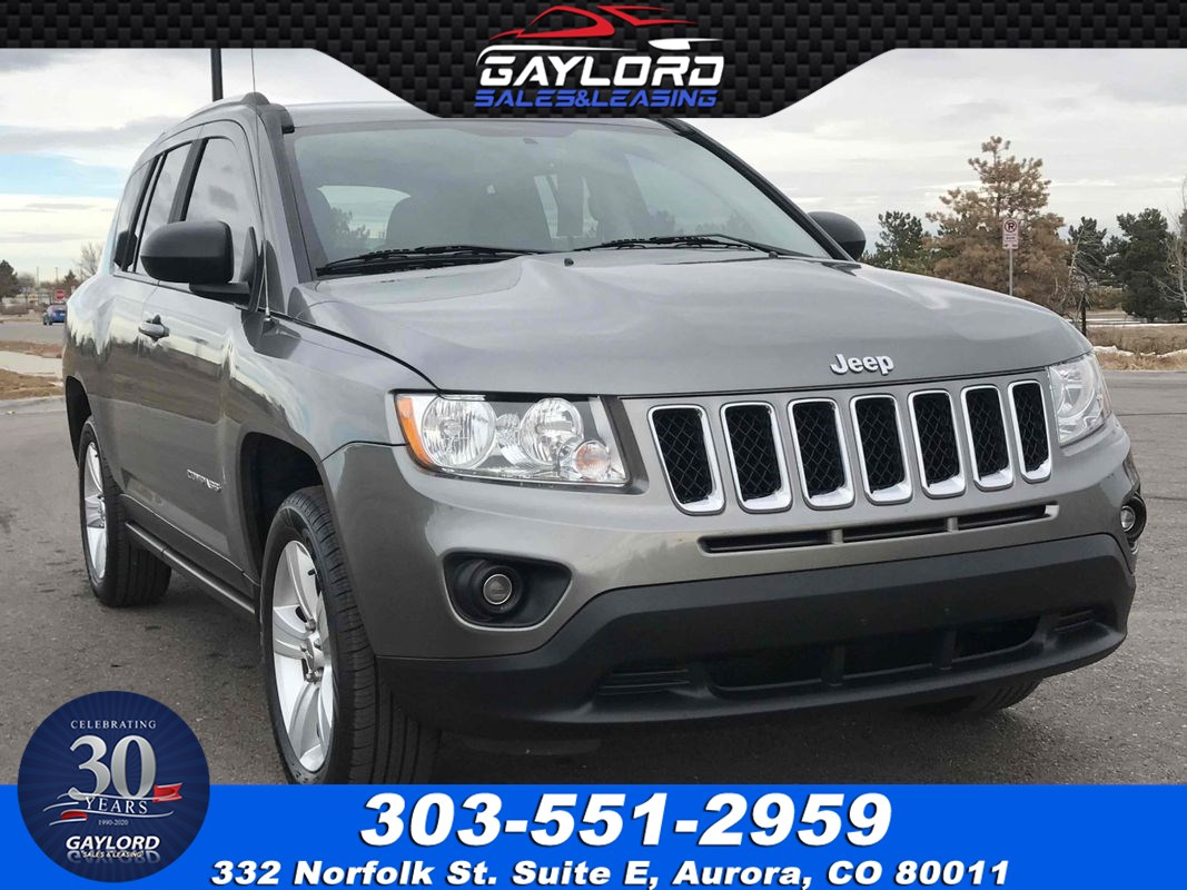 2013 Jeep Compass Latitude Front Wheel Drive 2.0L I4