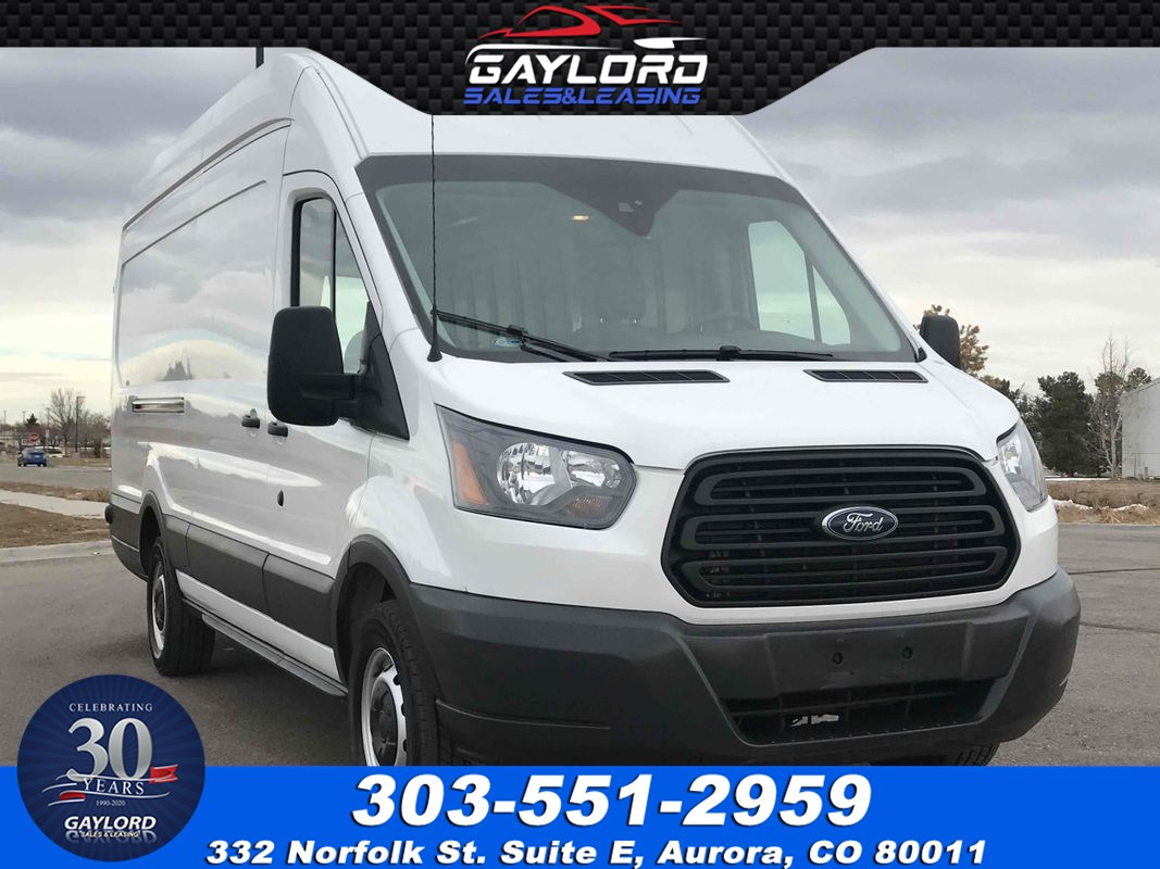 2019 Ford Transit-250 Extended Length High Roof w/Sliding Side Door w/LWB