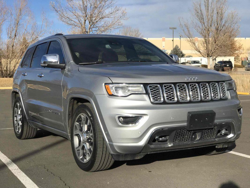 Sold 2019 Jeep Grand Cherokee Overland In Aurora