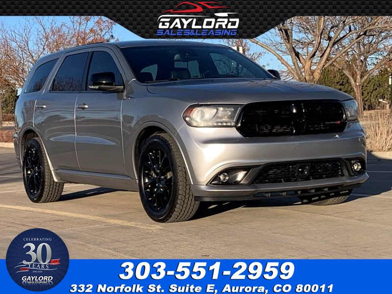 2015 Dodge Durango R/T All Wheel Drive Hemi 5.7L V8