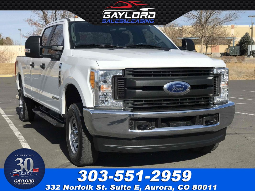 2017 Ford Super Duty F-350 SRW Crew Cab Long Bed 4X4 6.7L Powerstroke Diesel