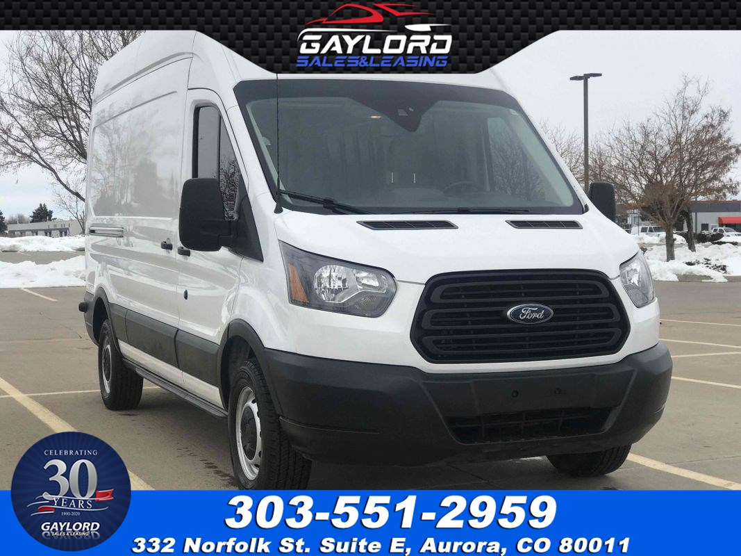 "2019 Ford Transit-250 High Roof Cargo Van 148"" Wheel Base 3.7L V6 w/Lane Keeping Alert"