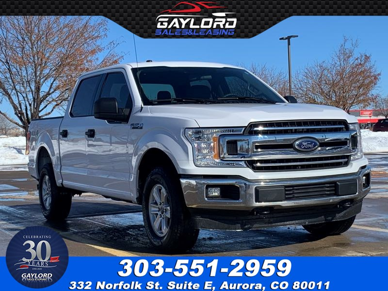 2018 Ford F-150 XLT SuperCrew Short Bed 4X4 5.0L V8