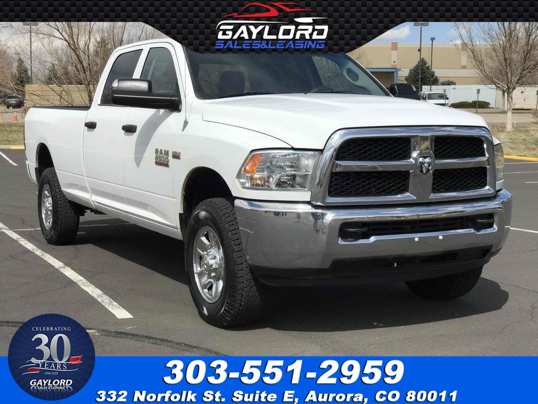 2014 Ram 2500 Tradesman Crew Cab Long Bed 4X4 6.4L V8 Hemi 4.10 Rear Axle