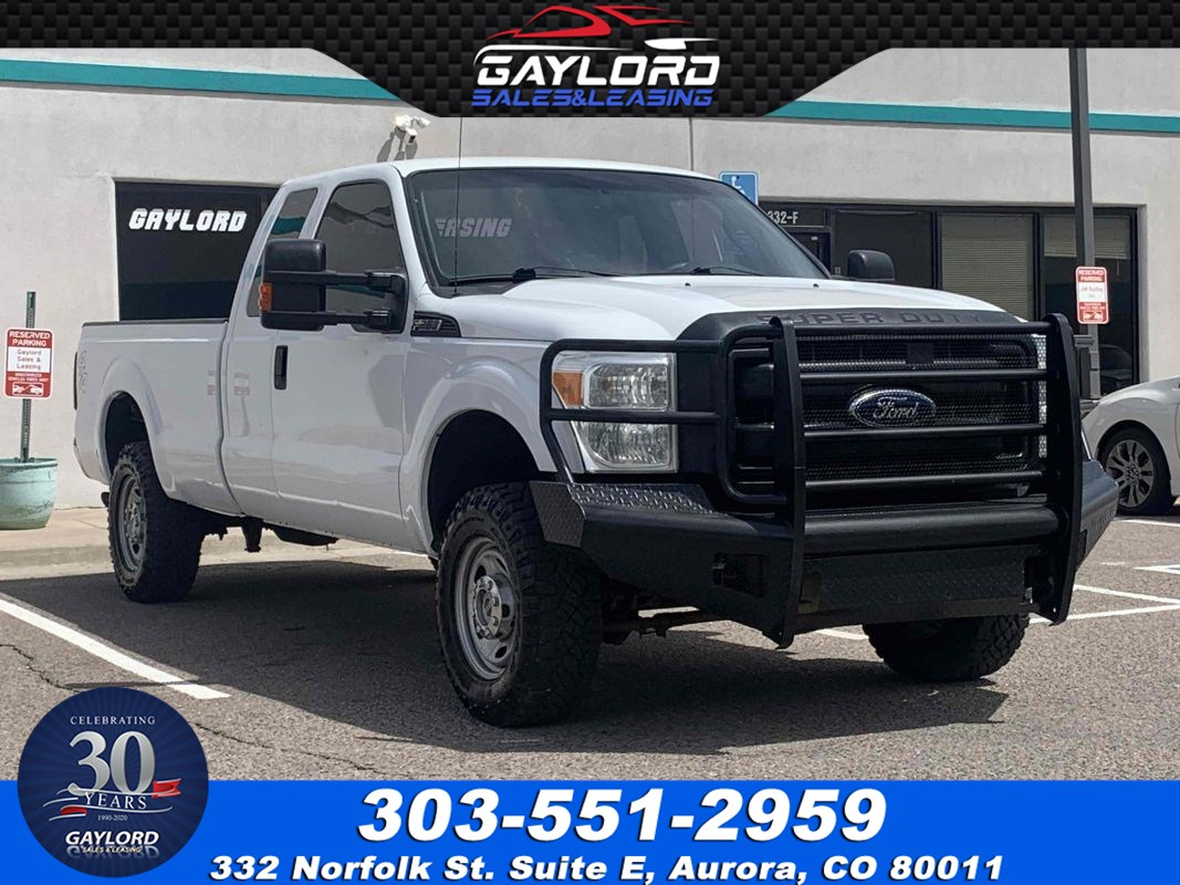 2011 Ford Super Duty F-250 SRW XL Extended Cab Long Bed 4X4 6.2L V8