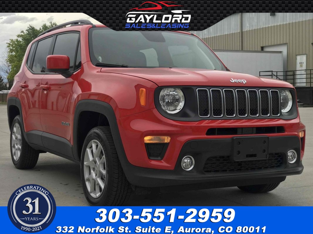 2019 Jeep Renegade Latitude 4X4 1.3L I4 Turbo