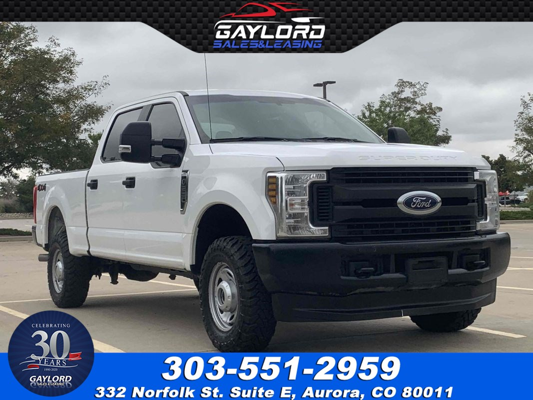 2019 Ford Super Duty F-250 SRW XL Crew Cab Short Bed 4X4 6.2L V8