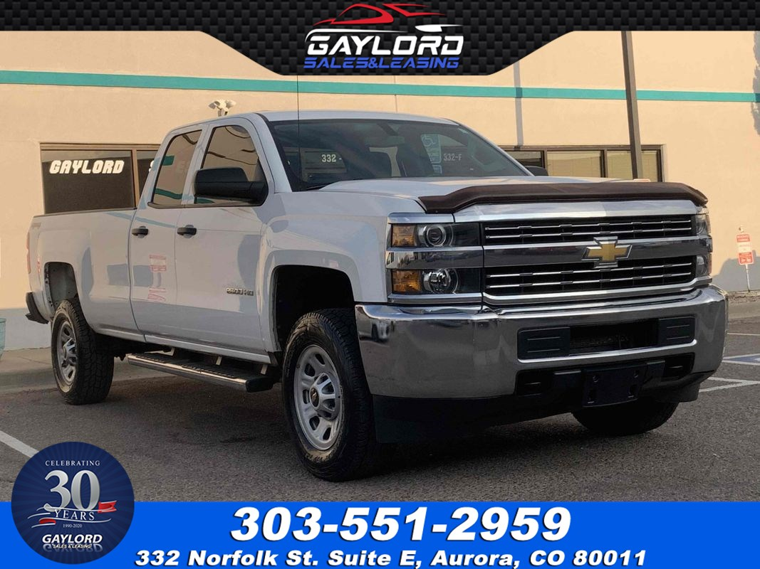 2015 Chevrolet Silverado 2500HD Double Cab Long Bed 4X4 6.0L V8