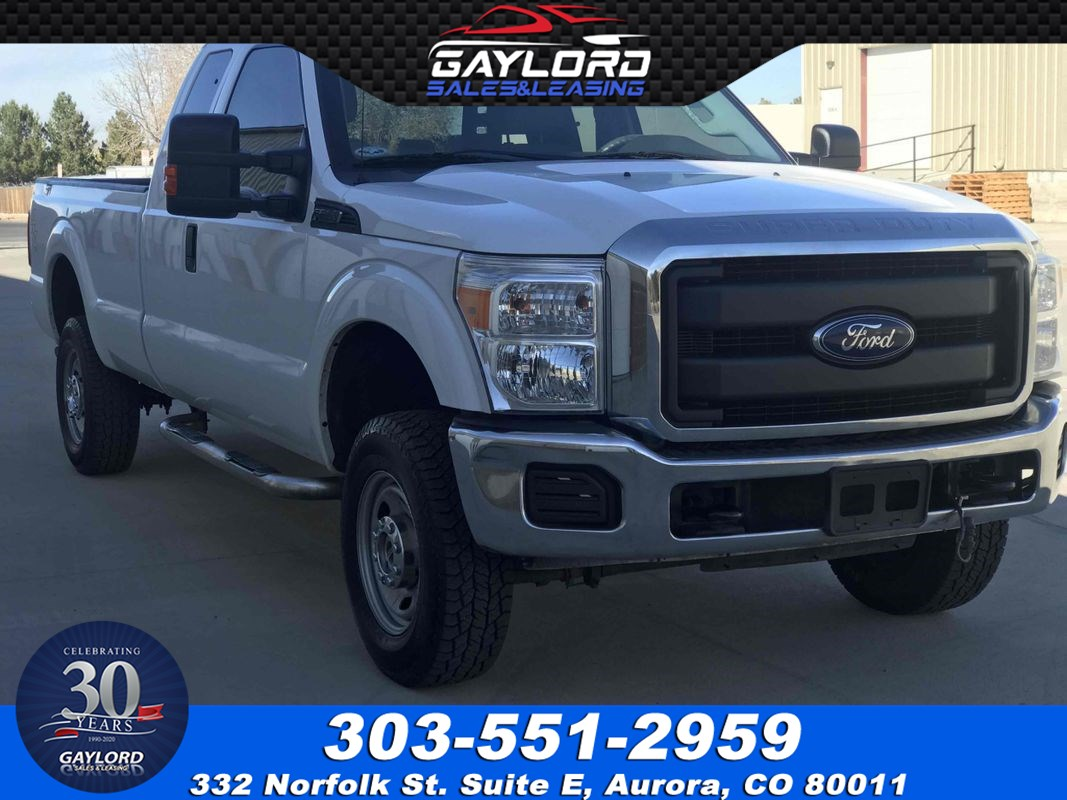 2016 Ford Super Duty F-250 SRW XL Extended Cab Long Bed 4X4 6.2L V8