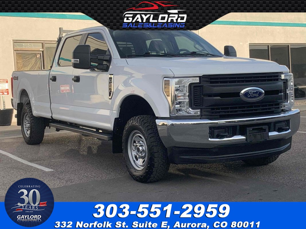 2019 Ford Super Duty F-250 SRW XL Crew Cab Long Bed 4X4 6.2L V8