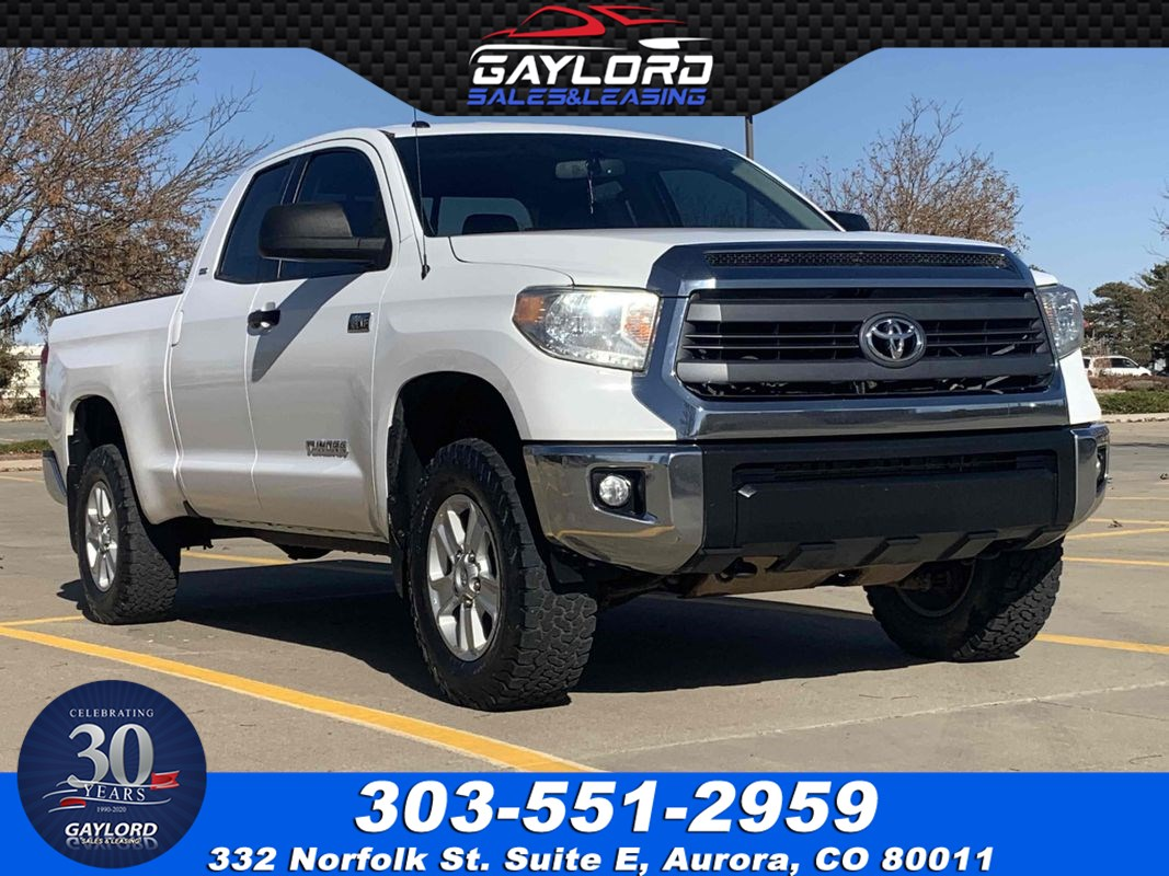 2014 Toyota Tundra 4WD Double Cab SR5 5.7L V8 6.5Ft Bed