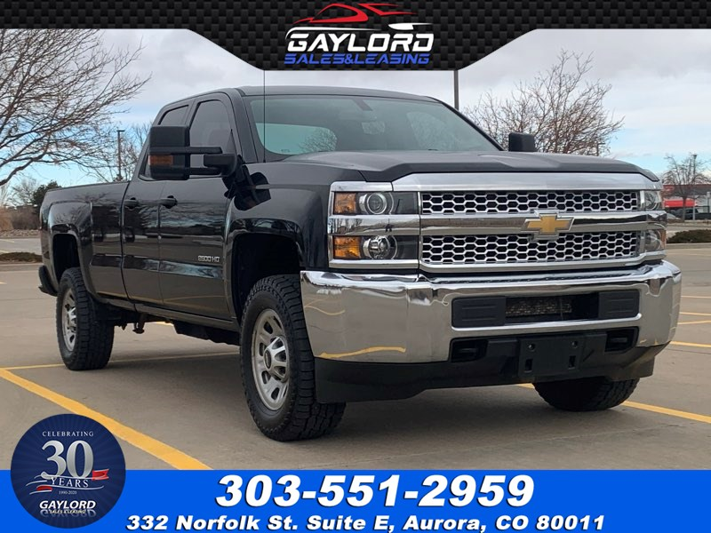 2019 Chevrolet Silverado 2500HD Double Cab Long Bed 4X4 6.0L V8