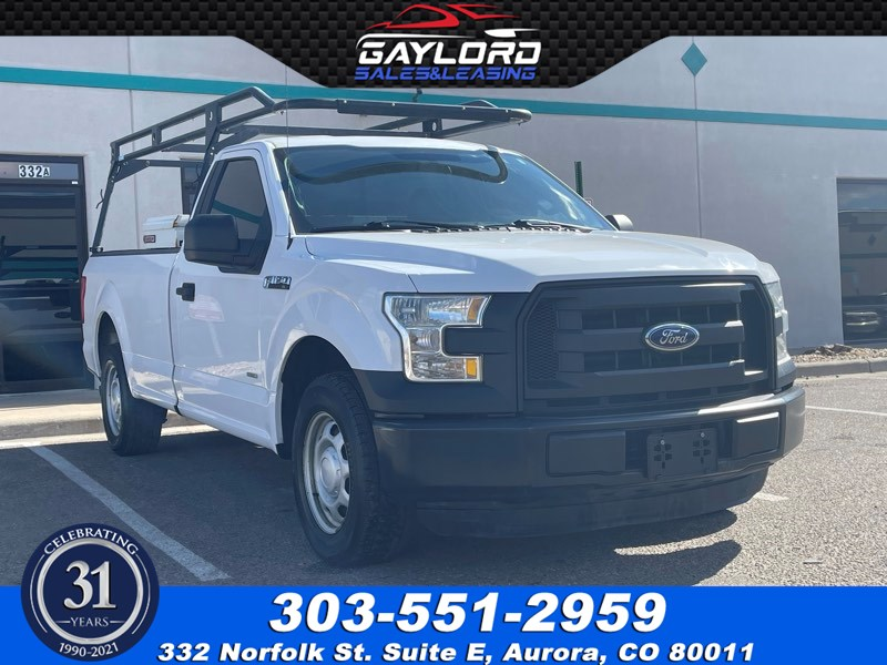 2015 Ford F-150 XL Regular Cab Long Bed Rear Wheel Drive 2.7L V6 Ecoboost