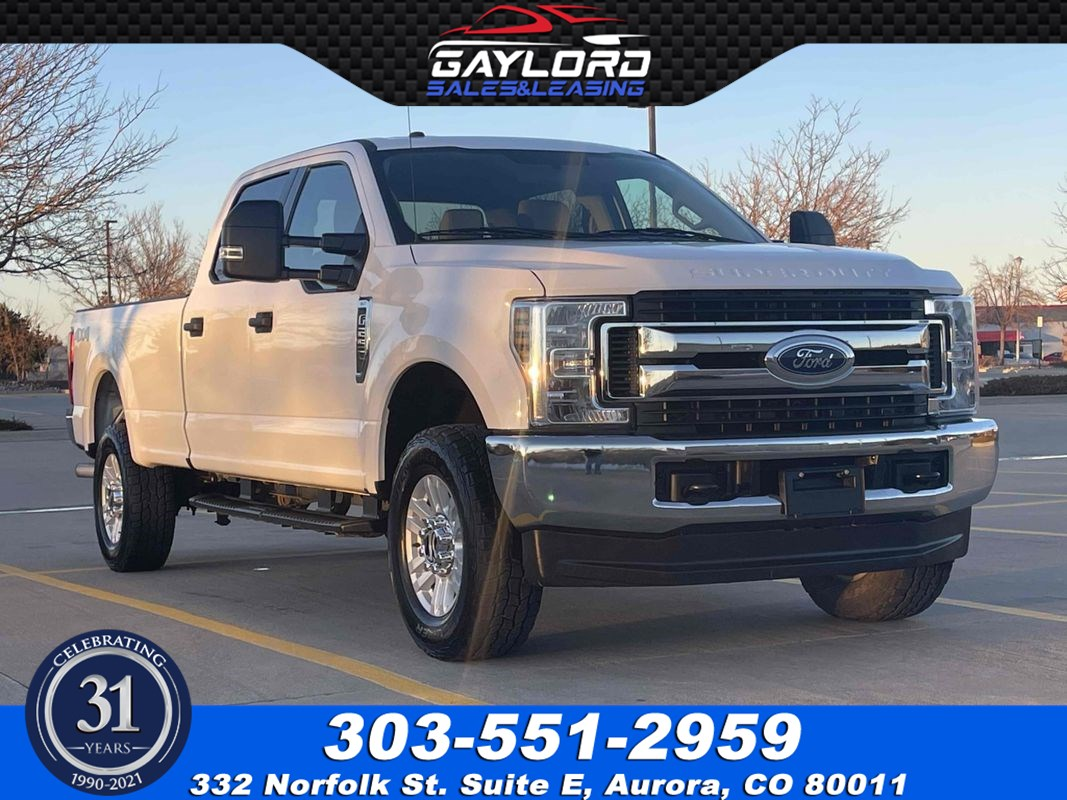 2019 Ford Super Duty F-250 SRW XLT Crew Cab Long Bed 4X4 6.2L V8