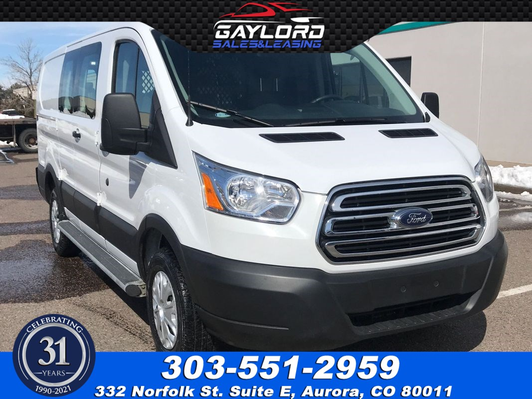 "2019 Ford Transit Van T-250 Low Roof  130"" WB 3.7L V6"