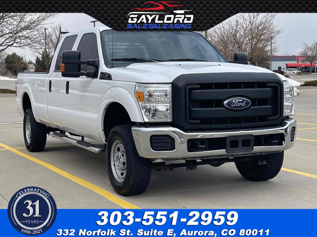 2015 Ford Super Duty F-250 SRW XL Crew Cab Long Bed 4X4 6.2L V8