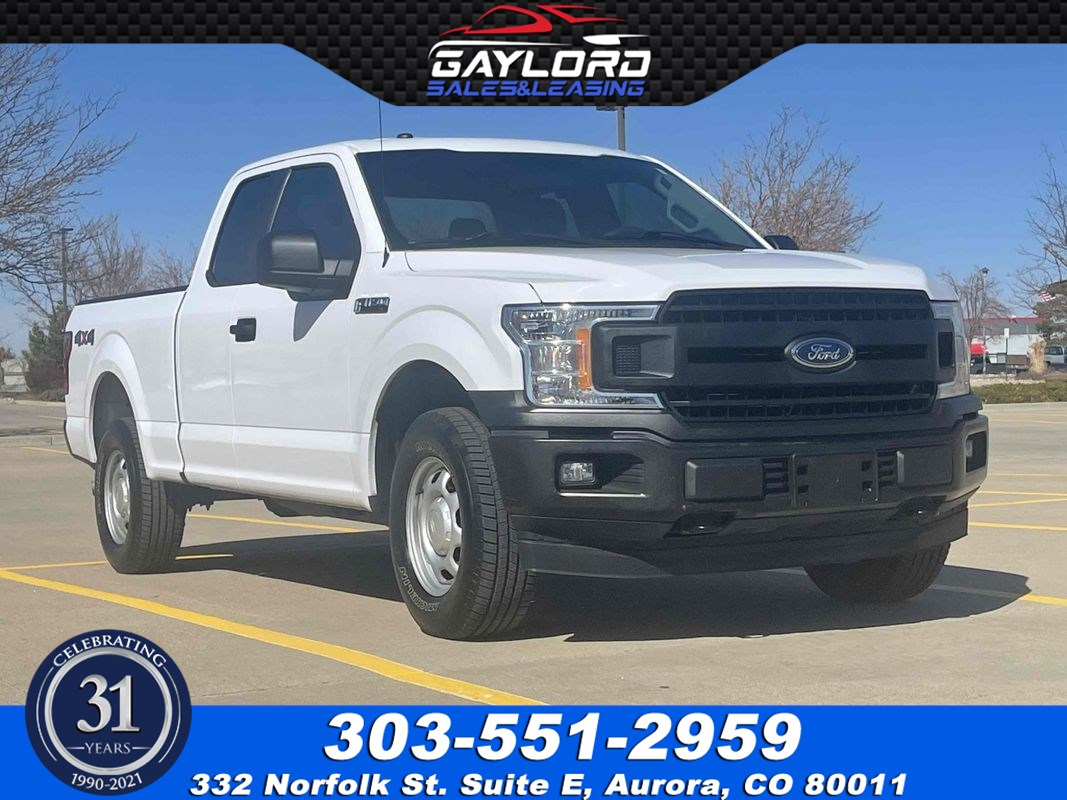 2018 Ford F-150 XL Extended Cab Short Bed 4X4 5.0L V8