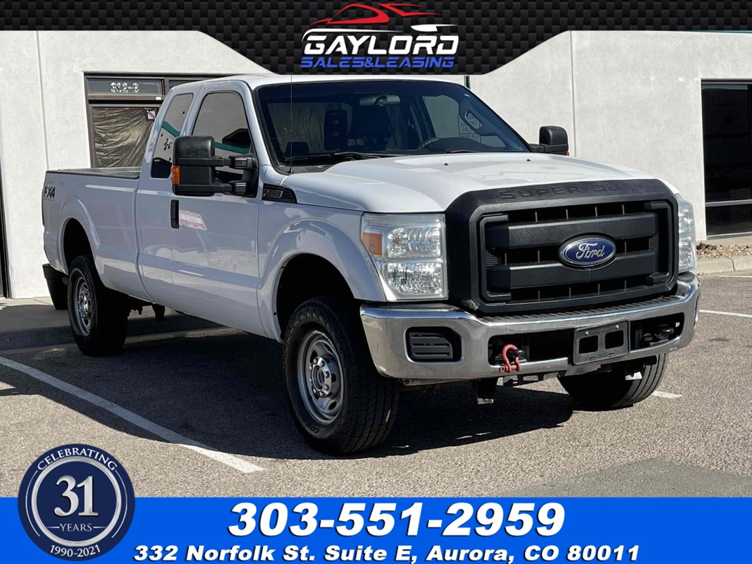 2016 Ford Super Duty F-250 Extended Cab Long Bed FX4 Off Road 4X4 6.2L V8