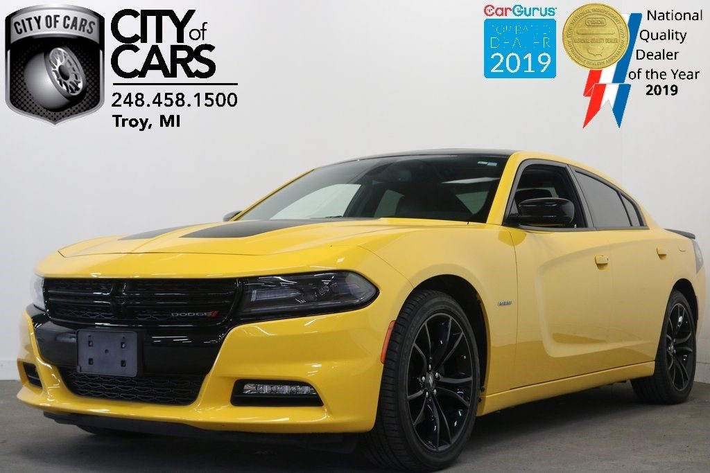 Sold 2017 Dodge Charger R T Blacktop In Troy
