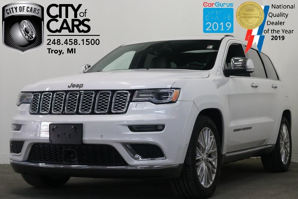 Jeep Summit 2017 >> 2017 Jeep Grand Cherokee Summit City Of Cars