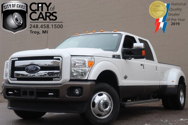 2015 Ford F-350SD King Ranch DRW