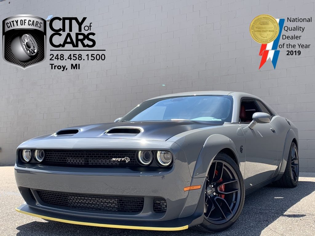 Sold 2019 Dodge Challenger Srt Hellcat Redeye Widebody In Troy