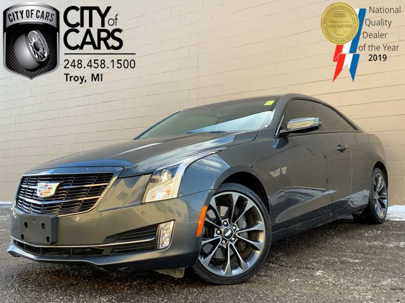 2017 Cadillac ATS Coupe Luxury AWD