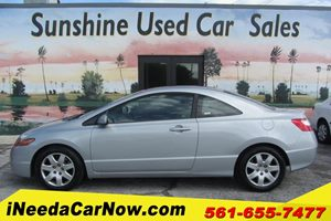 View 2007 Honda Civic Cpe LX