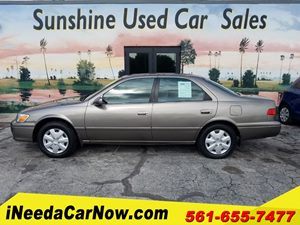 View 2001 Toyota Camry LE