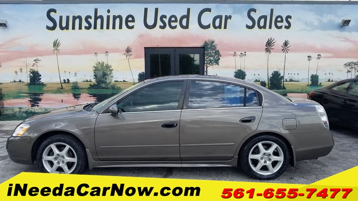 2003 Nissan Altima 3.5 SE Only $1499 Down** $65/Wk