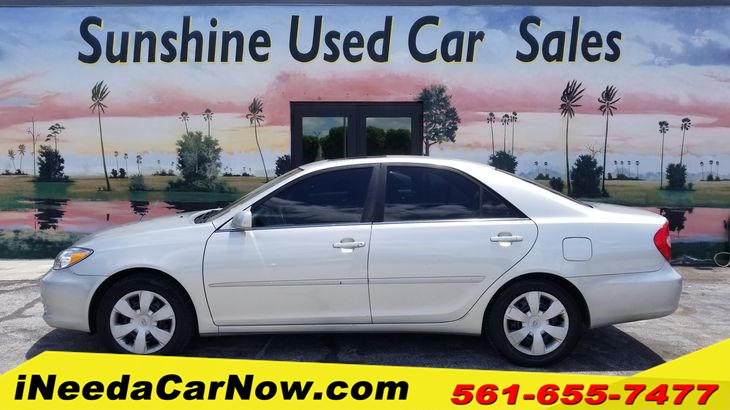 2002 Toyota Camry LE Only $899 Down** $58/wk