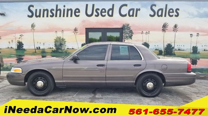 2007 Ford Crown Victoria Interceptor Only $1499 Down** $64/Wk