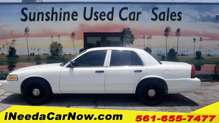 2008 Ford Crown Victoria Interceptor Only $899 Down** $60/Wk