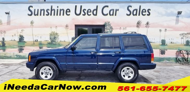 2000 Jeep Cherokee Only $1999 Down** $56/Wk