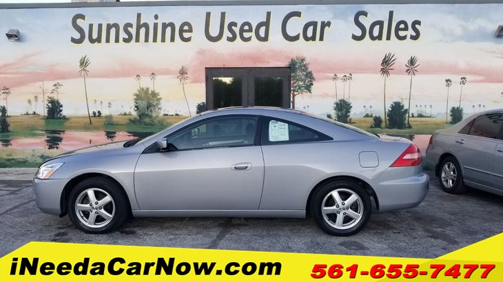 2003 Honda Accord Cpe Only $1499 Down** $65/wk
