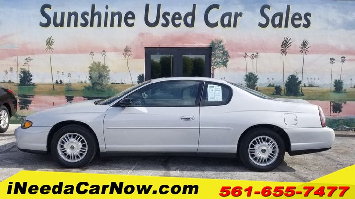 2000 Chevrolet Monte Carlo LS $2999 Cash Price